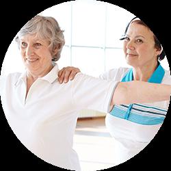 Clique aqui para saber mais sobre nosso serviço de Fisioterapia para Idosos