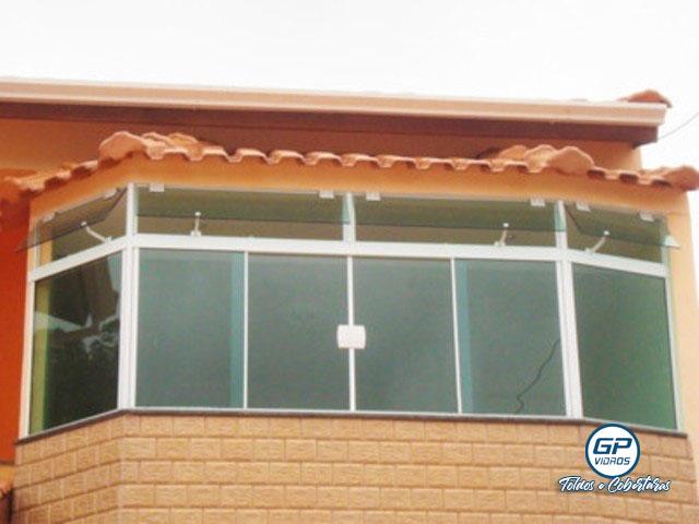 Envidraçamento de Ambiente - Vidro Incolor - Varanda