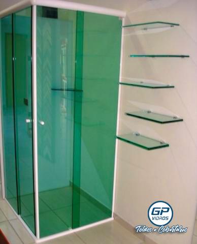 Instalação de Box - Vidro Verde