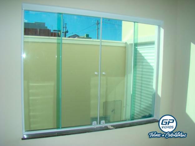 Janela de Vidro - Vidro Verde - Residencial